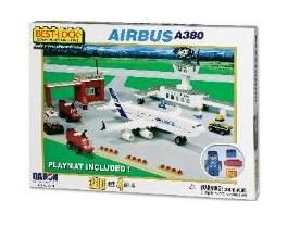 DARON/ダロン ブロック プレイセット エアバスA380 (330 ピース)