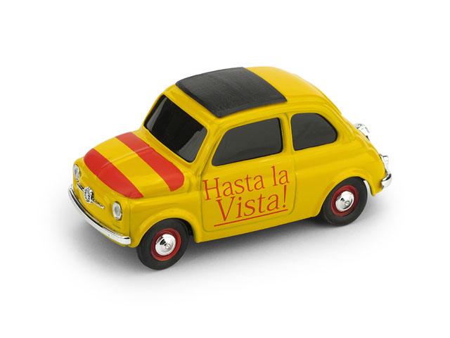 BRUMM/ブルム フィアット 500  スペイン Hasta la Vista (さよならまた会おう)