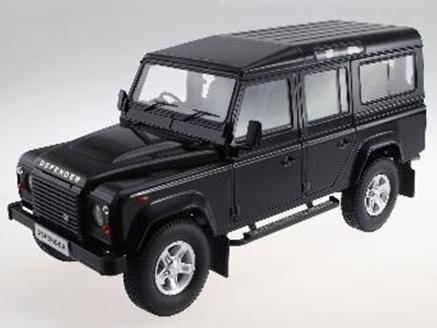 DORLOP/ドアロップ ランドローバー ディフェンダー 110 RHD ダイキャストシャーシ ブラック