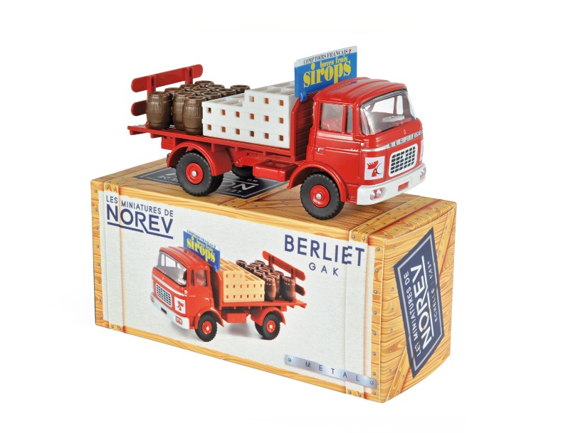 NOREV/ノレブ カミオン ベルリエ GAK Sirop des Comptoirs Francais