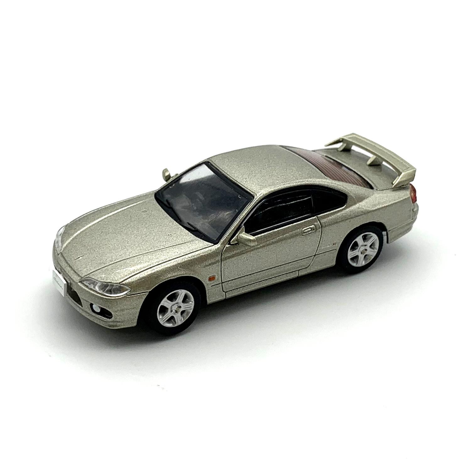 DIECAST MASTERS 日産 シルビア S15 シルバー RHD