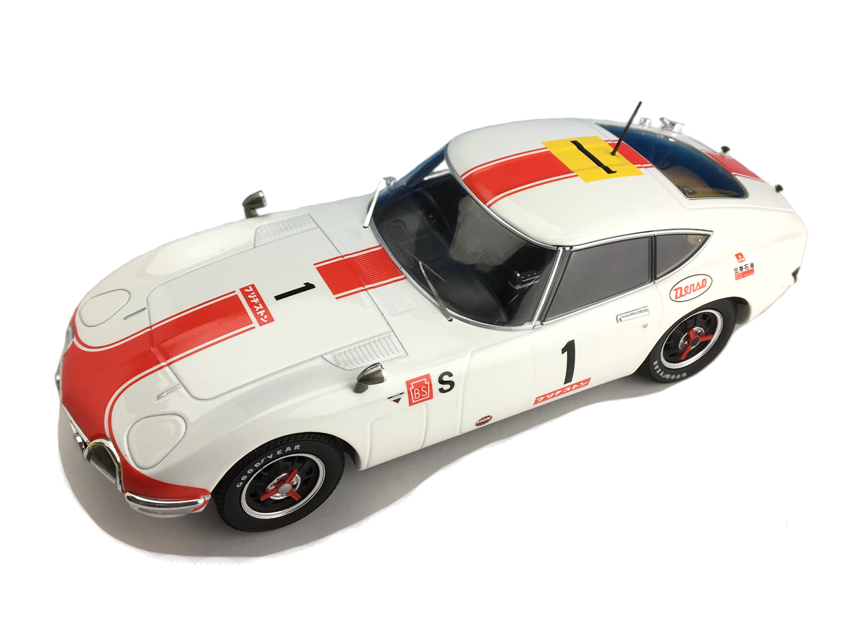First18/ファースト18 トヨタ 2000GT 1967年 富士24時間レース優勝 #1細谷四方洋/大坪善男