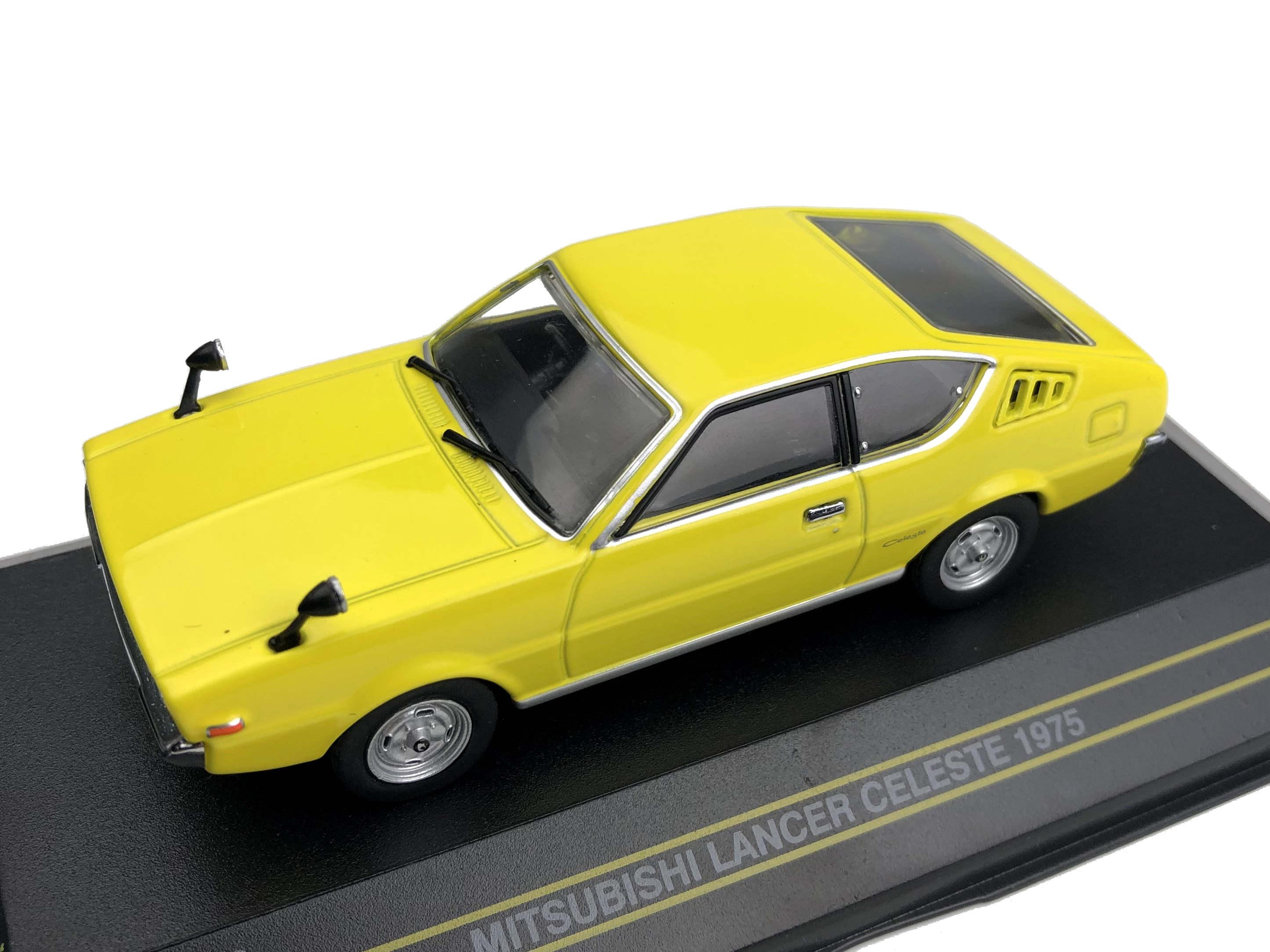 First43/ファースト43 三菱 ランサー セレステ 1975 イエロー