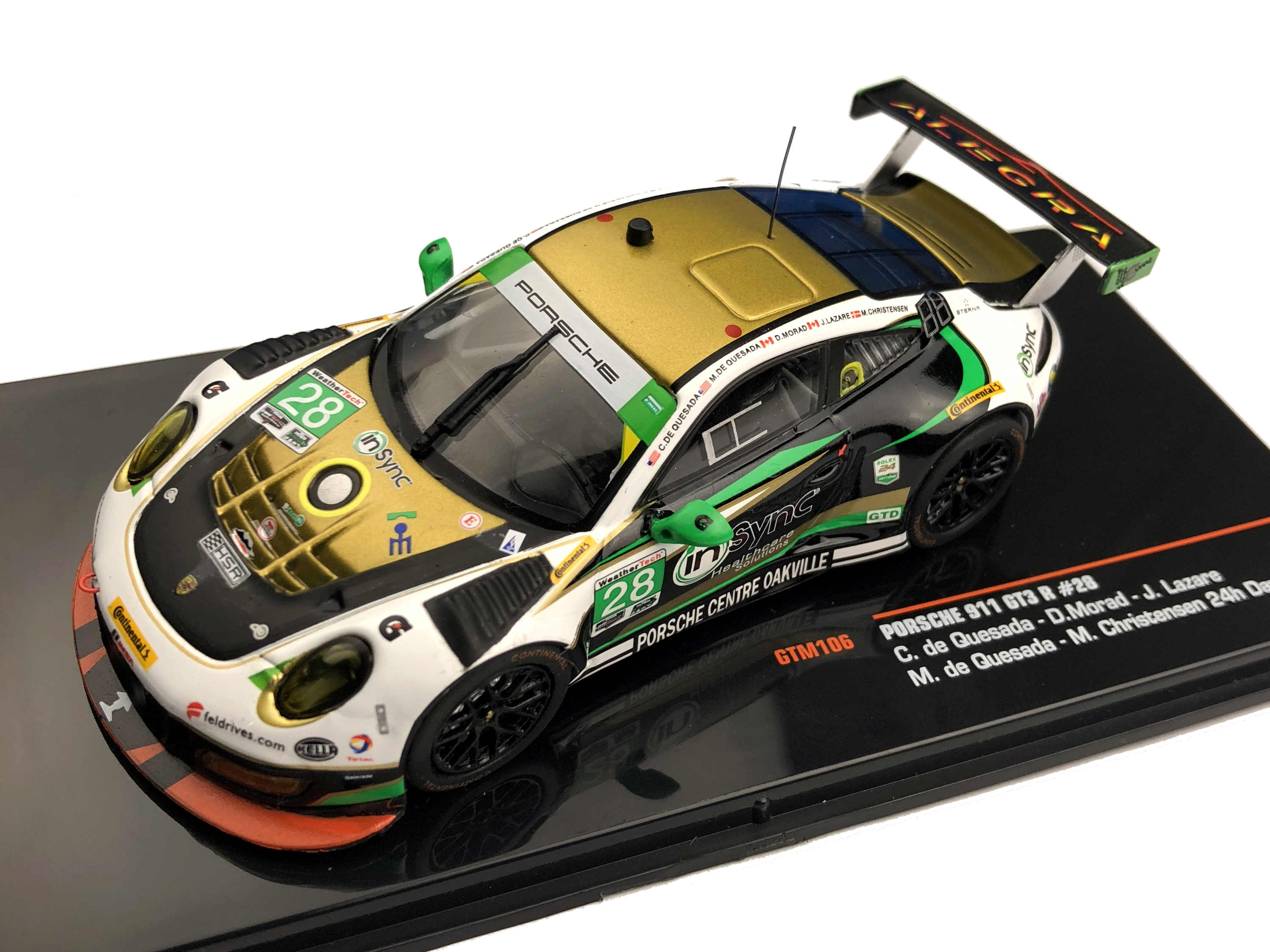 ixo/イクソ ポルシェ 911 GT3 R 2017年デイトナ24時間 #28