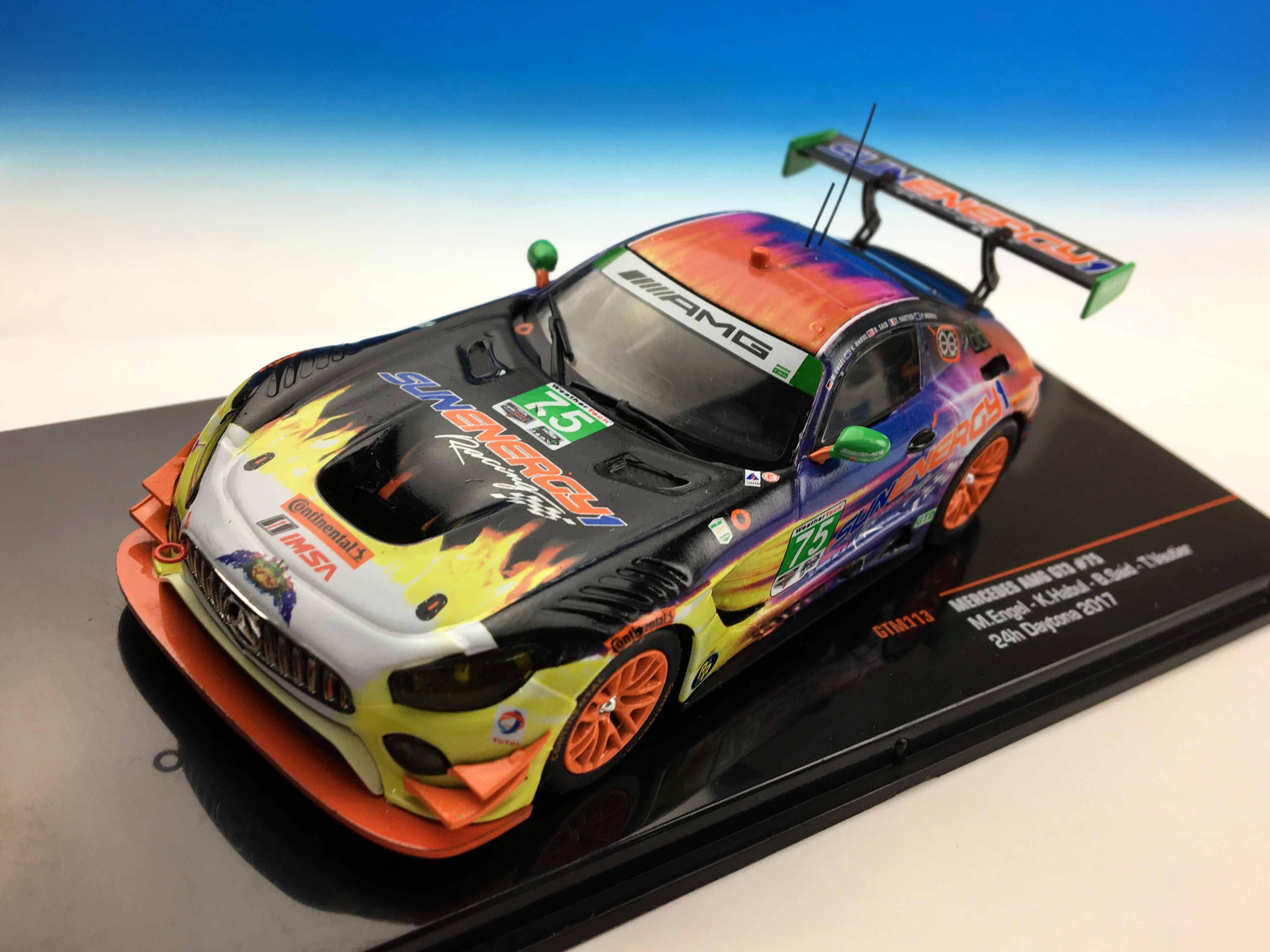 ixo/イクソ メルセデス・ベンツ AMG GT3 2017年デイトナ24時間 #75?Sun Energy 1 Racing