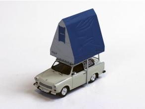 IST/イスト トラバント 601 (1980) ライトグレー レジン製ルーフテント付