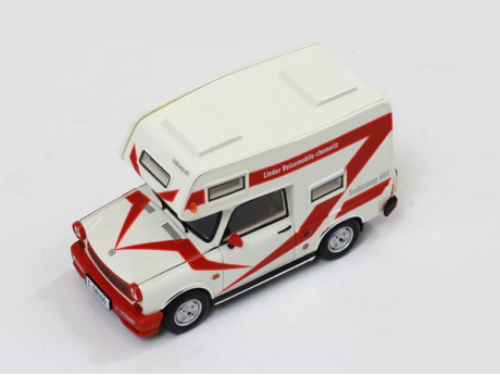 IST/イスト トラバント 601 キャンピングカー 80 ホワイト