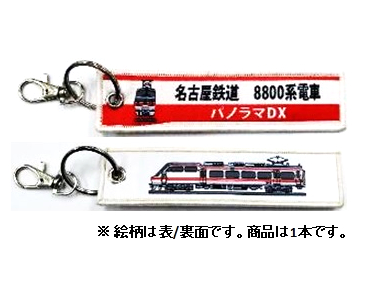 ししゅうダグ 名古屋鉄道 8800系電車 パノラマ
