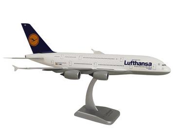 HoganWings/ホーガンウイングス A380-800 ルフトハンザ・ドイツ航空 Dusseldorf スタンド付属