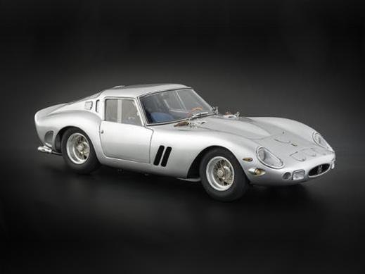 CMC/シーエムシー フェラーリ 250 GTO 1962 シルバー
