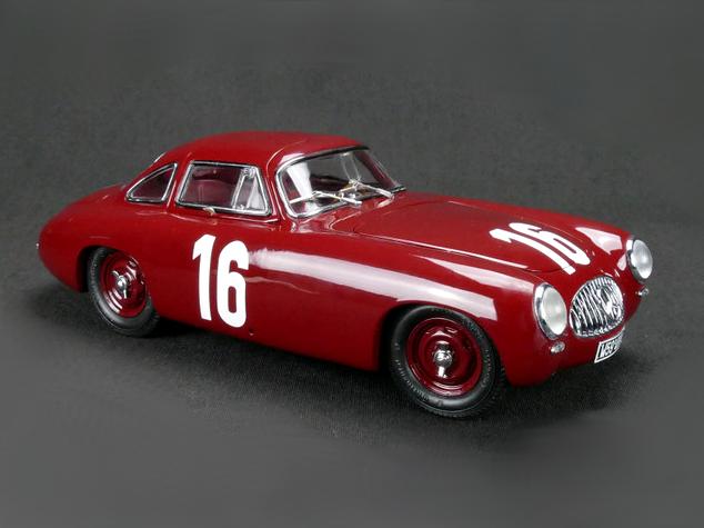 CMC/シーエムシー メルセデス・ベンツ 300SL Great Price of Bern 1952 No.16 レッド