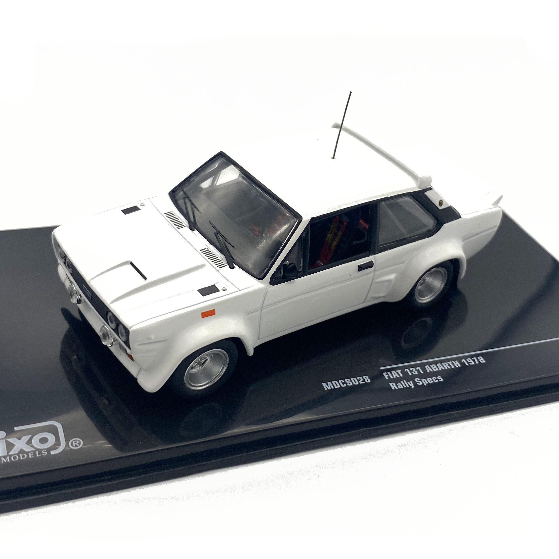 ixo/イクソ フィアット 131  アバルト 1978  ラーリスペック オールホワイト
