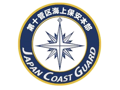 彫金アート 新彫金ステッカー 海上保安庁第十管区海上保安本部