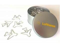 LIMOX/リモックス ルフトハンザ 飛行機型クリップ 40個入り