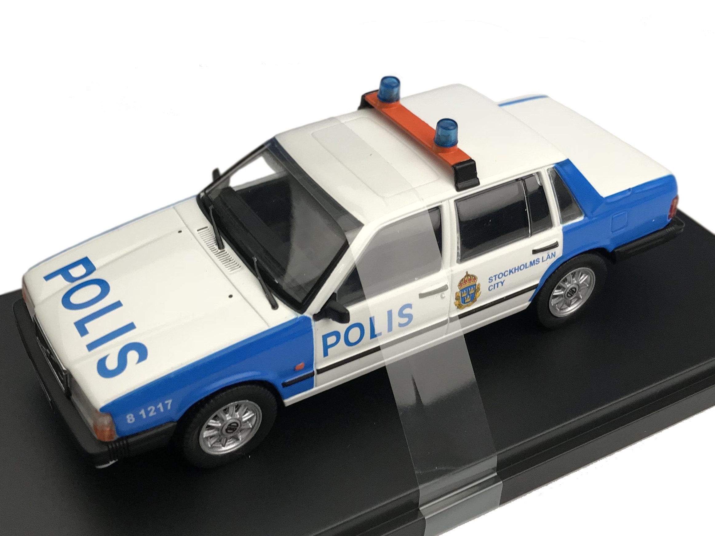 Premium-X/プレミアムX ボルボ 740 ターボ E25 ストックホルムポリス 1985