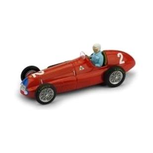 BRUMM/ブルム アルファ ロメオ 158 1950年英国&ヨーロッパGP #2 Nino Farina  フィギュア付