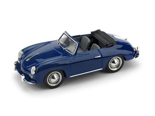 BRUMM/ブルム ポルシェ 356  カブリオレ オープン 1952 ローヤルブルー/インテリアグレー