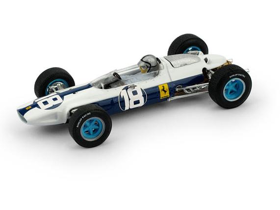 BRUMM/ブルム フェラーリ 156 F1 1964年メキシコGP #18 P. RODRIGUEZ