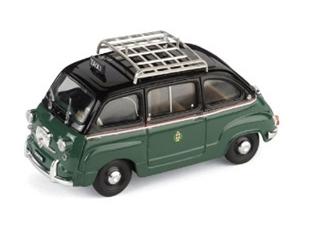 BRUMM/ブルム フィアット 600D ムルティプラ 1960  ミラノタクシー