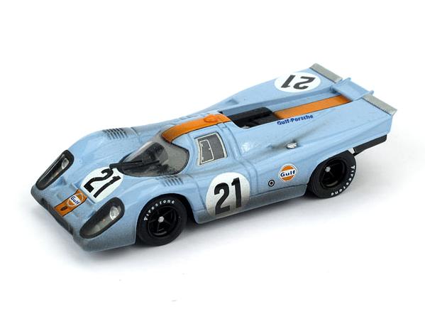 BRUMM/ブルム ポルシェ 917K Scuderia JWA-Gulf 1970年ルマン #21レース後仕様