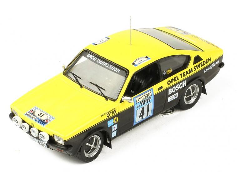 ixo/イクソ オペル カデット GT/E Gr.1  1976年RACラリー #41