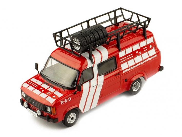 ixo/イクソ フォード トランジット MK II 1985 R.E.D アシスタントカー