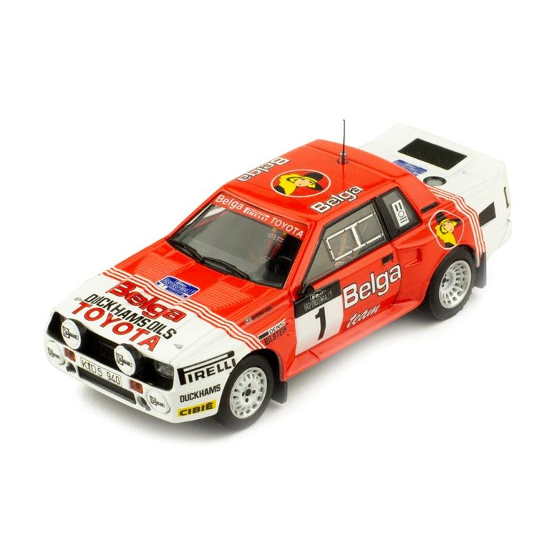 ixo/イクソ トヨタ セリカ TWINCAM 85ラリー・ハスペンゴウ #1 J.Kankkunen/F.Gallagher