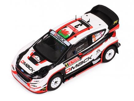 ixo/イクソ フォード フィエスタ WRC 2017年ラリー・ポルトガル #3