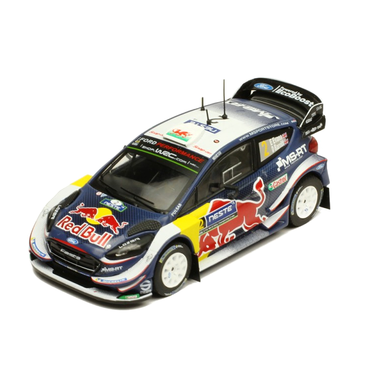 ixo/イクソ フォード フィエスタ WRC 2018 ラリーフィンランド #2 E.Evans / D.Barrit