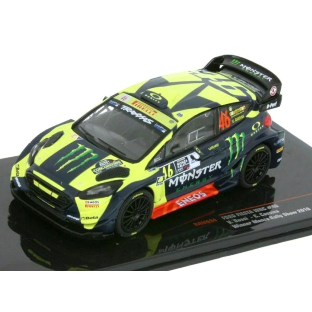 ixo/イクソ フォード フィエスタ WRC 2018 モンツァラリーショー 優勝 #46 V. Rossi?/ C. Cassina