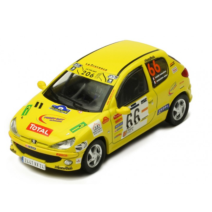 ixo/イクソ プジョー 206 XS 2006年Rallye Terre de provence #66 S. Ogier/J. Ingrassia