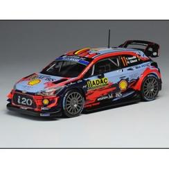 ixo/イクソ ヒュンダイ i20 クーペ WRC 2019年ドイツラリー #11 T. Neuville/N. Gilsoul