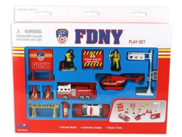 DARON/ダロン ニューヨーク市消防局 プレイセット