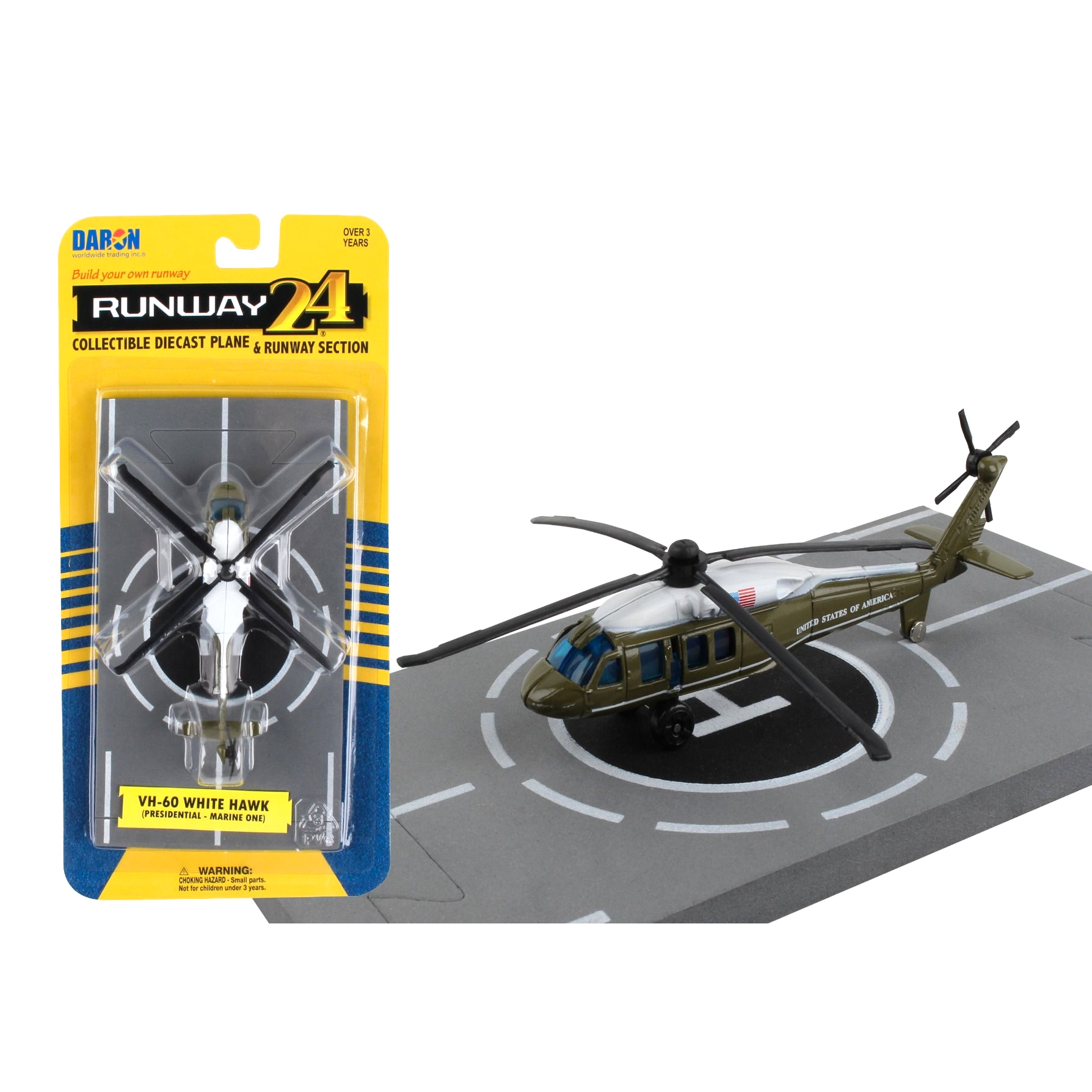 DARON/ダロン UH-60 大統領専用ヘリ
