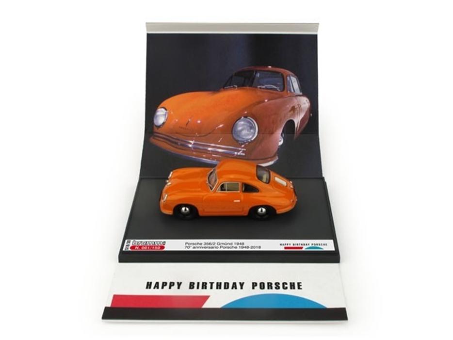 BRUMM/ブルム ポルシェ 356 クーペ グミュント 1948 ポルシェ生誕70周年記念