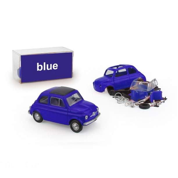 BRUMM/ブルム フィアット 500 レインボー  ブルー   (キット)