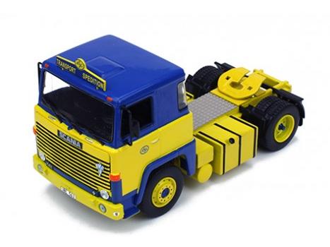 ixo/イクソ スカニア LBT 141 1976 ブルー/イエロー ASG