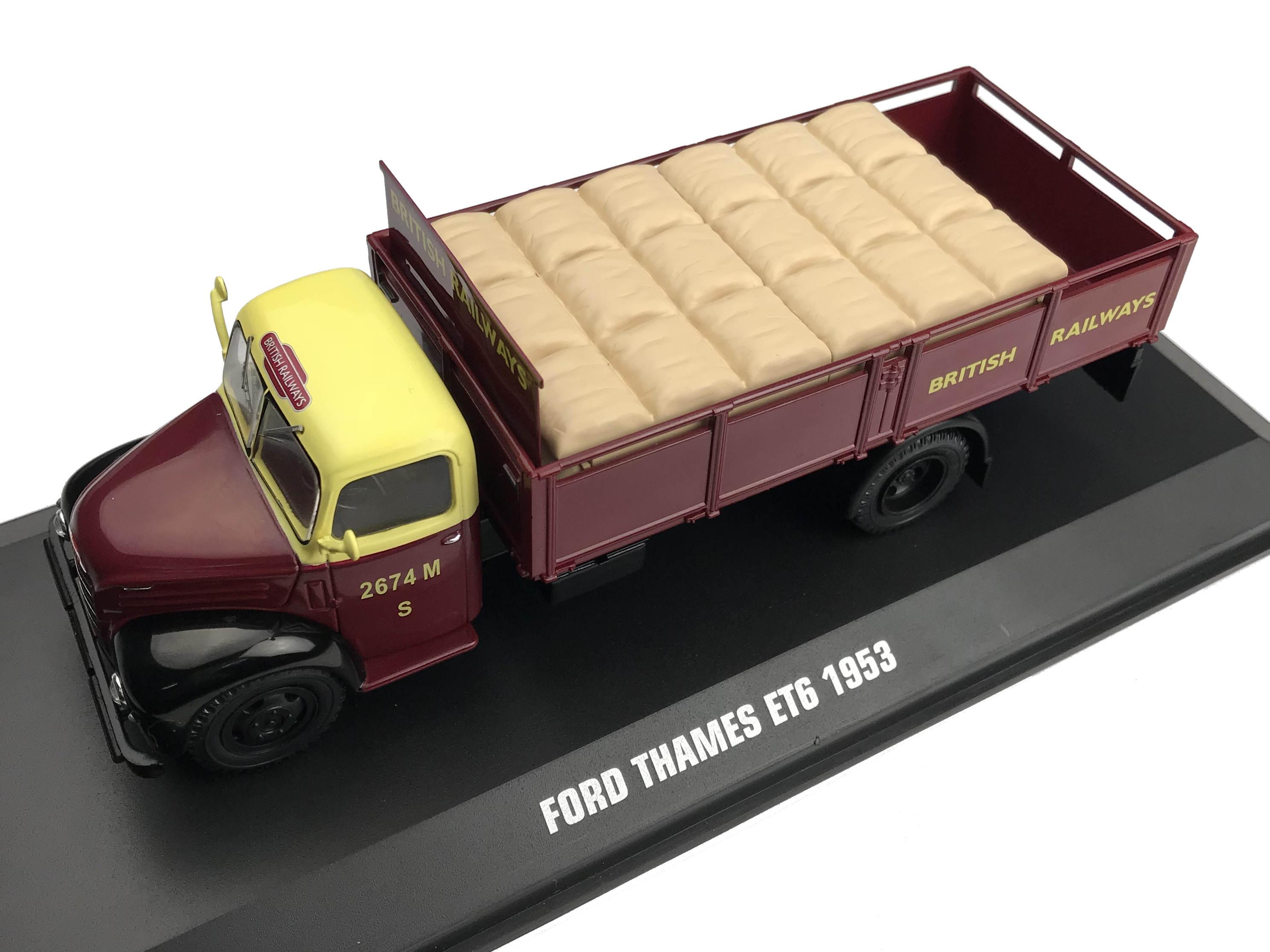 ixo/イクソ フォード THAMES ET6 1953 RAYMOND HOLLANDS