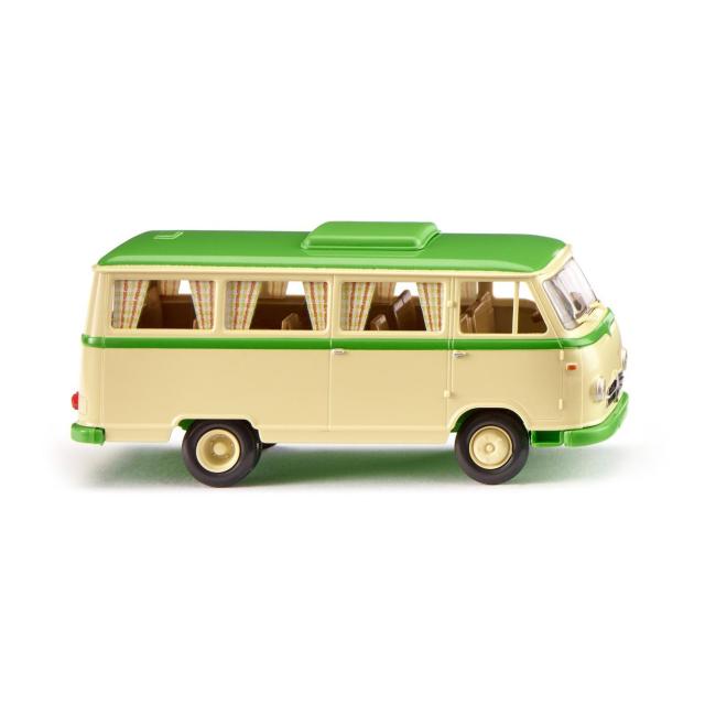 WIKING/ヴィーキング ボルグワルド キャンピングバス B611 アイボリーベージュ/イエローグリーン