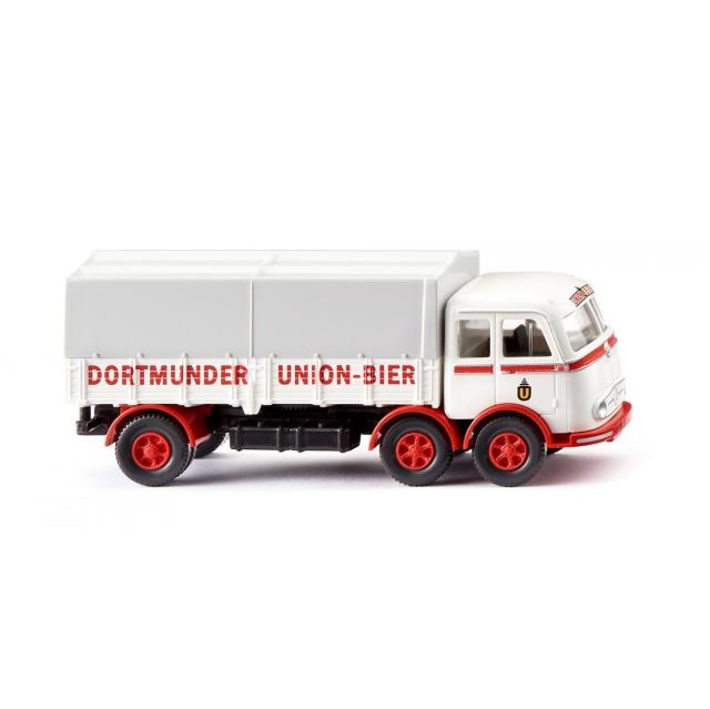 WIKING/ヴィーキング MB LP 333 フラットベッドトラック Dortmunder Union