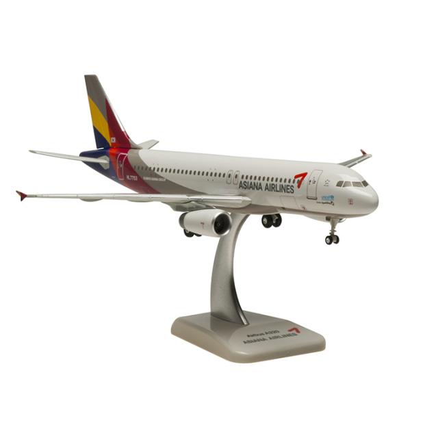 HoganWings/ホーガンウイングス A320 アシアナ航空 ランディングギア・スタンド付属