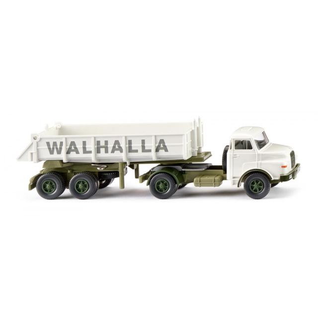 WIKING/ヴィーキング MAN リアダンプ セミトラック Walhalla Kalk