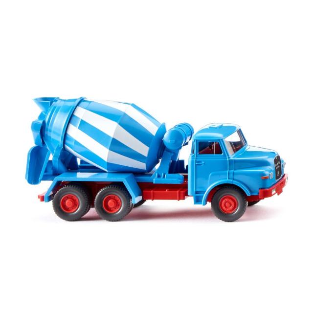 WIKING/ヴィーキング MAN コンクリートミキサー ブルー/ホワイト