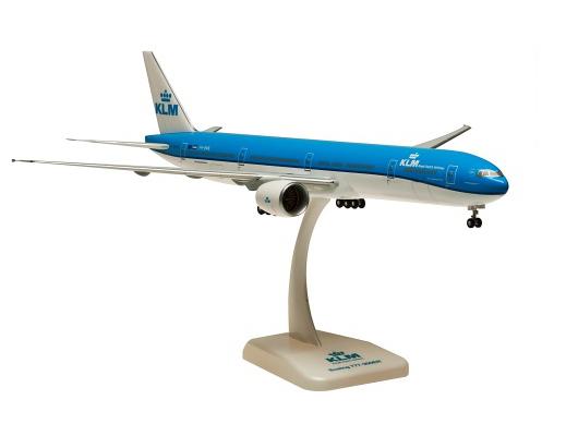 HoganWings/ホーガンウイングス B777-300ER KLMオランダ航空 2015新塗装 ランディングギア・スタンド付属