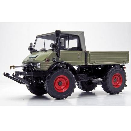 Weise-Toys/ワイズトイズ ウニモグ 406 (U84) フォールディングルーフ トラック グレー