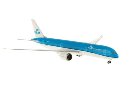 HoganWings/ホーガンウイングス B787-9 KLMオランダ航空 地上姿勢 ランディングギア付属
