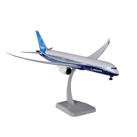 HoganWings/ホーガンウイングス ボーイング 787-10 ボーイングハウスカラー ランディングギア、スタンド付