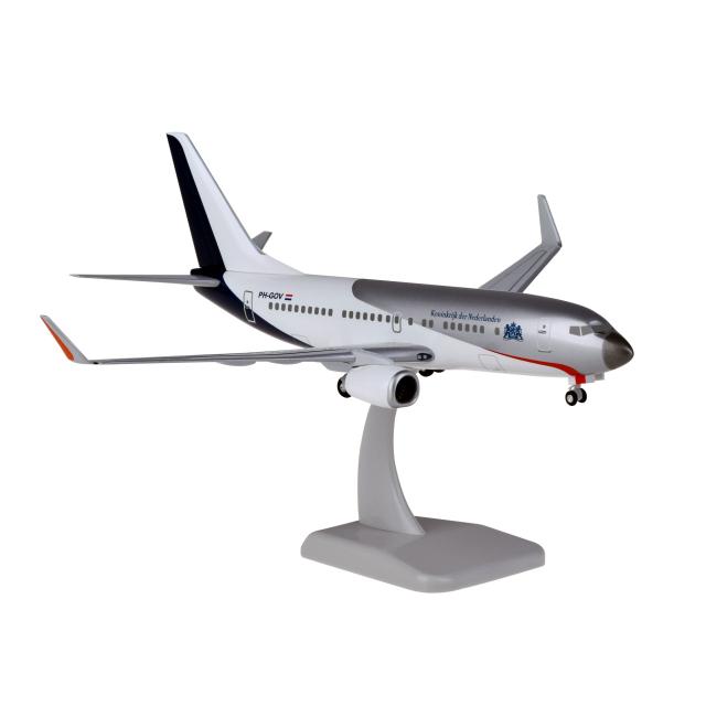 HoganWings/ホーガンウイングス B737-700WW オランダ政府専用機 ランディングギア・スタンド付属