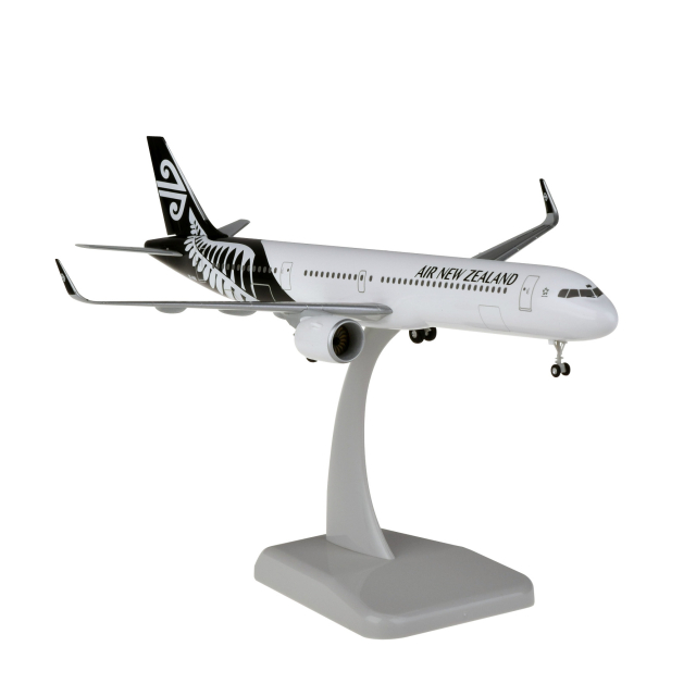 HoganWings/ホーガンウイングス A321neo ニュージーランド航空 ホワイト ランディングギア・スタンド付属