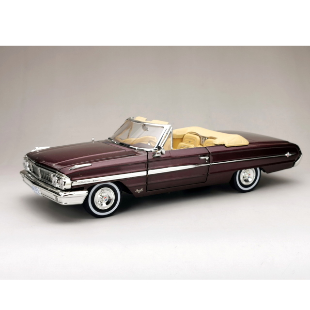 SunStar/サンスター フォード ギャラクシー 500/XL オープン 1964 ヴィンテージバーガンディー